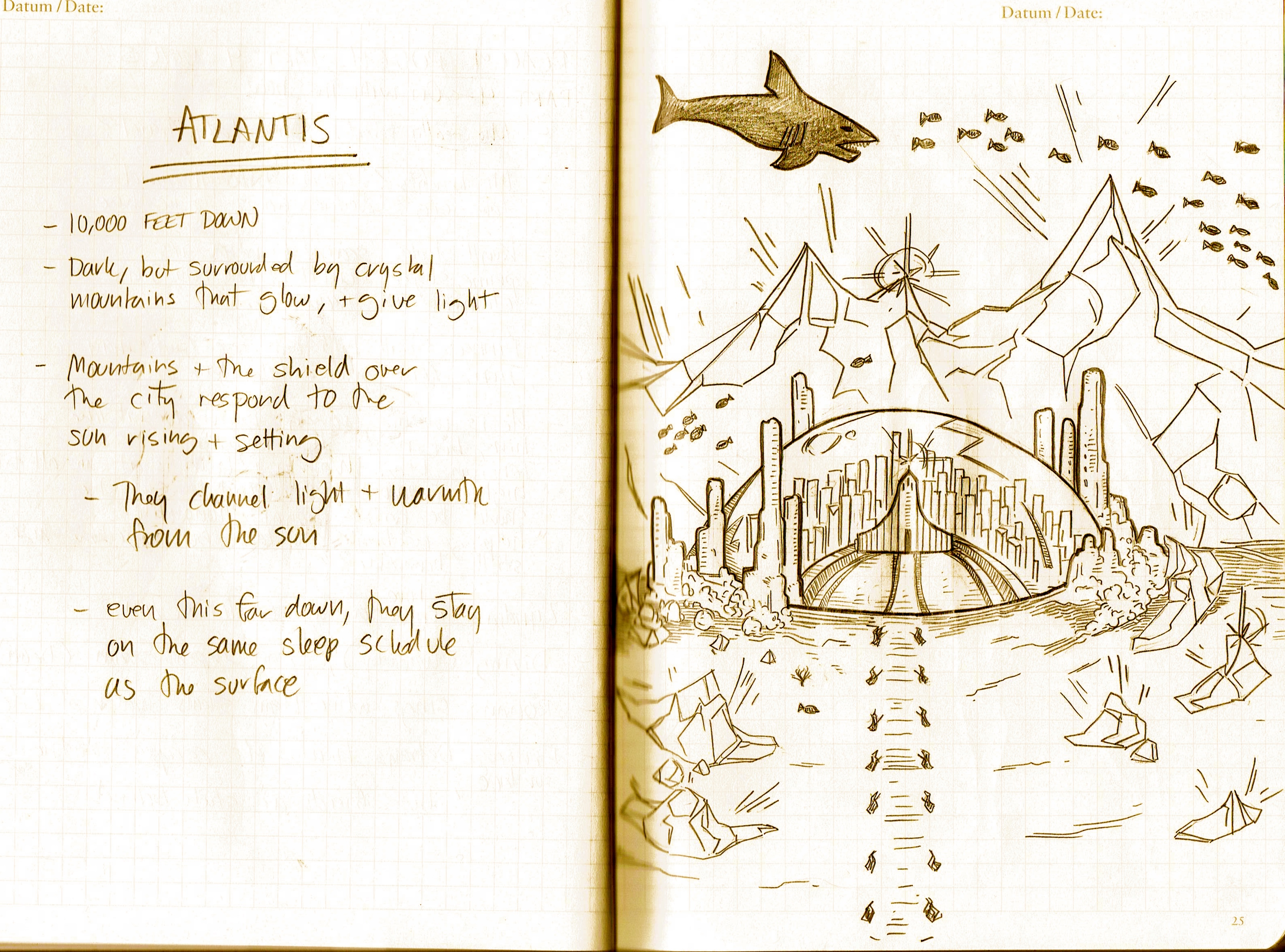 Atlantis (early sketch)